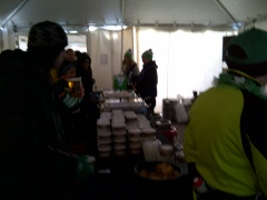 Bowls of chili - too bad it's only 1 per person
