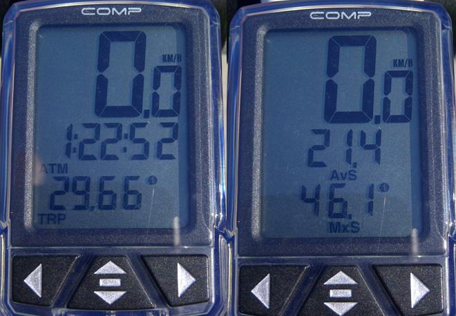 21.4kph; 29.7km