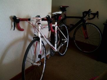 Bike dressed up