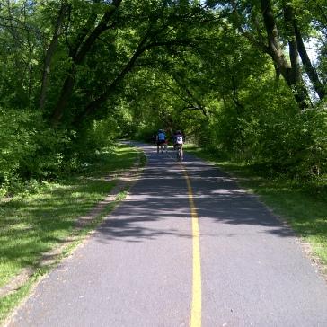 Scenic path along Rideau River