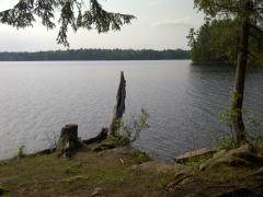 Silver Lake - en route along Hwy7