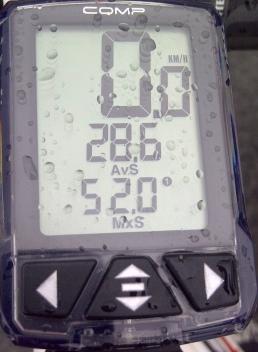 Avg 28.6kph at 22km