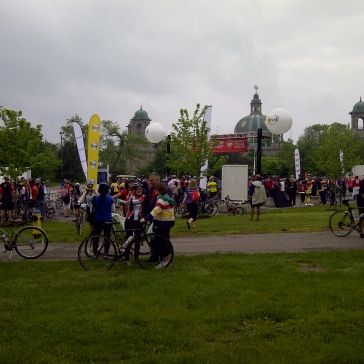 Finish Line (Red Banner)