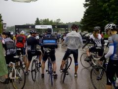 Startline - 50k get soaked