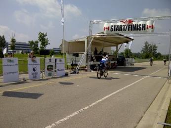 Top few 130km riders